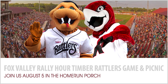 Join us for a Timber Rattlers game August 5, 2016