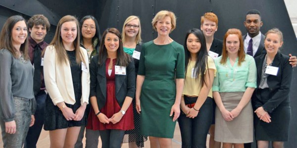 Our students met with politicians in D.C. during the spring Career Discovery Tour