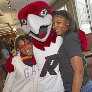 Rally the Red Hawk: our lovable mascot