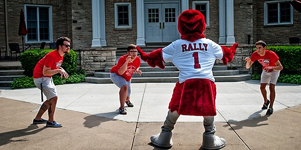 Rally is the alpha to this Orientation Committee pack
