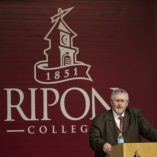 Celebrated science fiction writer, Orson Scott Card spoke on campus March 30.