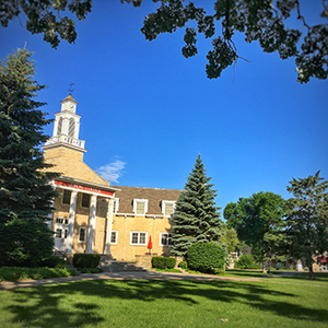 It's summer on campus, and it is beautiful.