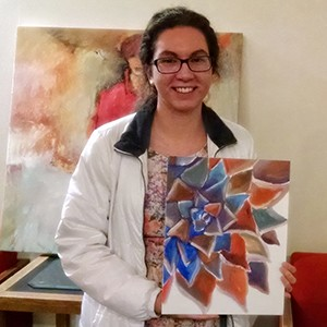 Ripon After Dark recently hosted a canvas painting event