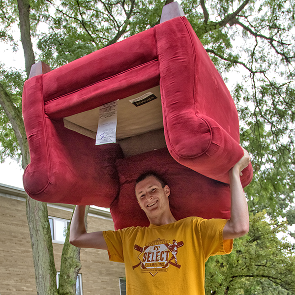 The students are back! After a successful move-in day, we're ready for fall classes.