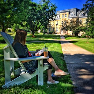 Summer is an amazing time on campus.