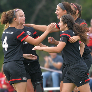 The women's soccer team is having its best season ever.