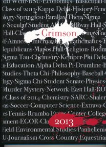 2013 Crimson cover