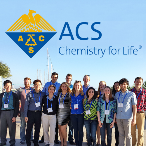 Ripon College group at ACS Spring 2016 meeting