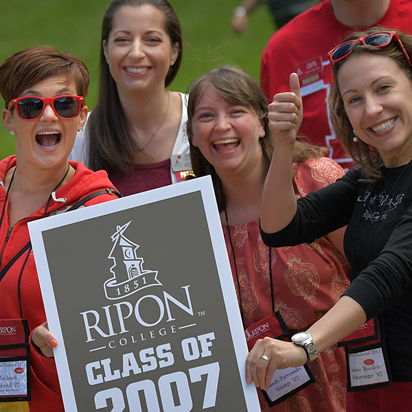Members of the Class of 2007 returned to campus to celebrate their 10th reunion