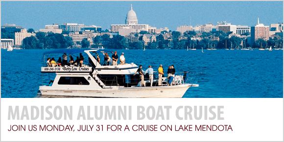 Register for Madison Alumni Boat Cruise