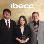 DeLou Wilson, Lauren Hince and Wyatt McGillen: first runners up International Business Ethics Case Competition 2017