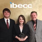 DeLou Wilson, Lauren Hince and Wyatt McGillen: first runners up International Business Ethics Case Competition 2017