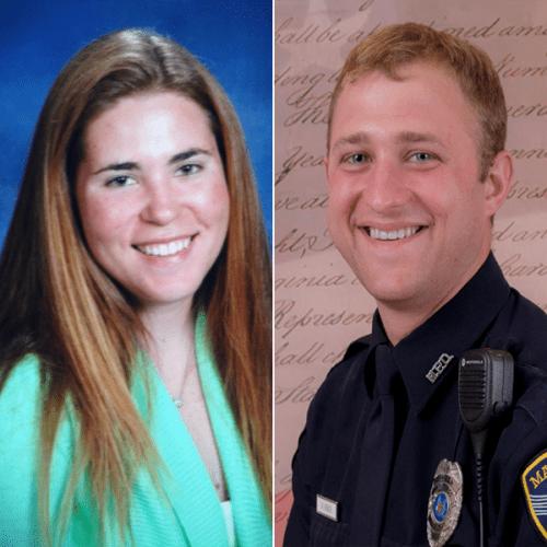 Combined photo of Holly Kortemeier and Kyle Novack