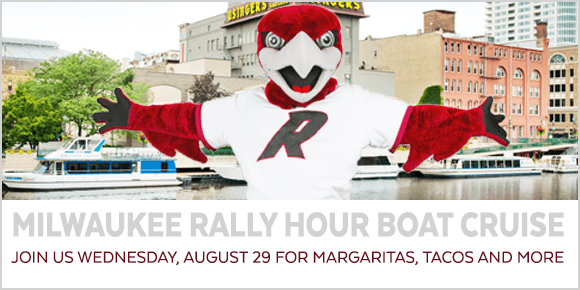 Join us for a Rally Hour boat cruise in Milwaukee