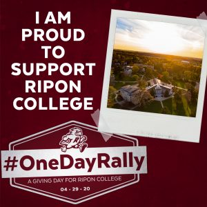 Ripon College One Day Rally Instagram post image