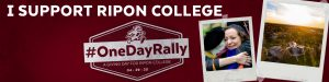 Ripon College One Day Rally LinkedIn Cover image