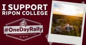 Ripon College One Day Rally LinkedIn post image
