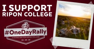 Ripon College One Day Rally Facebook Post