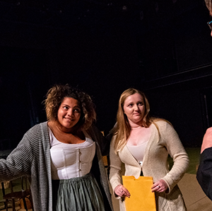 The theatre department recently presented a production of Laurie Gunderson's 'Silent Sky.'