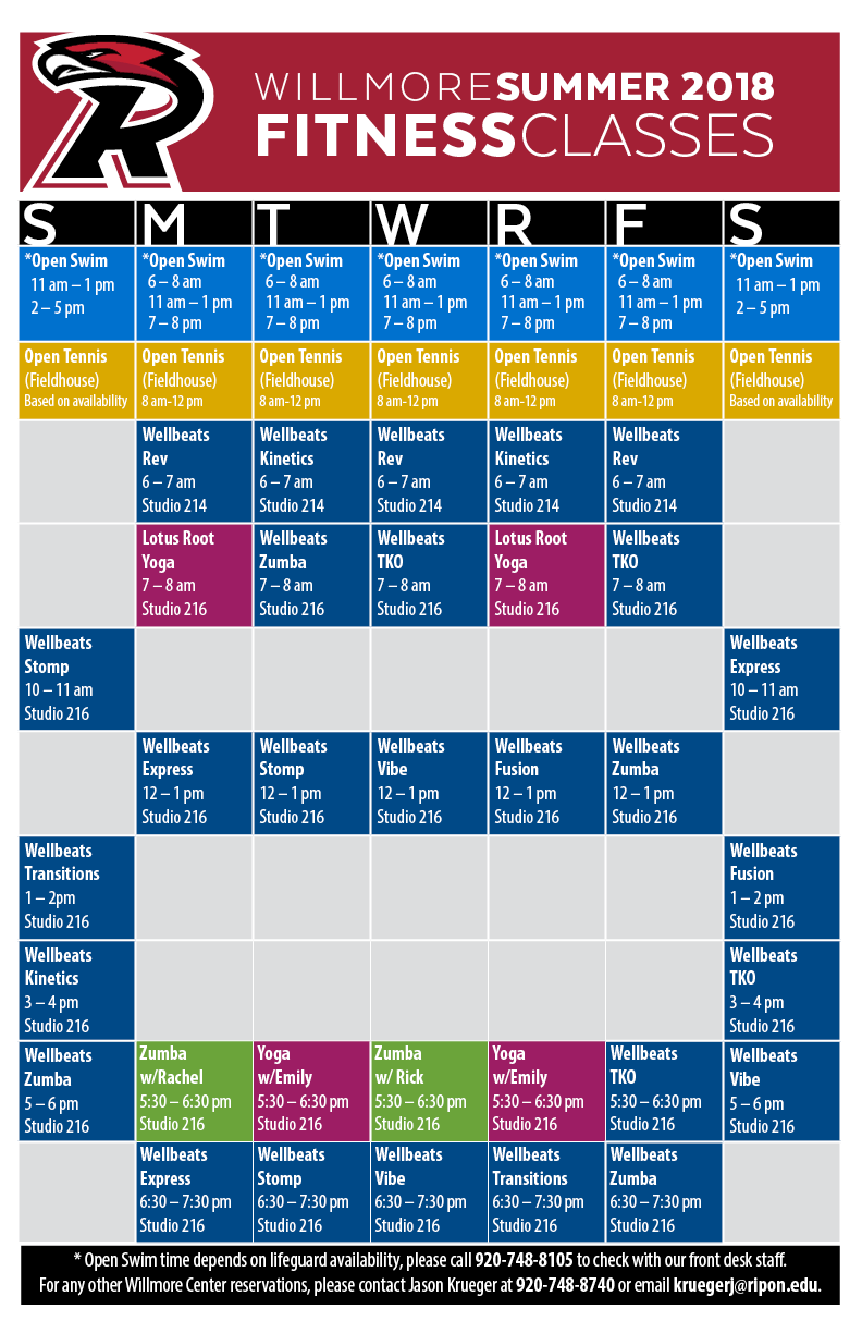 Hours & Class Schedules   Ripon College