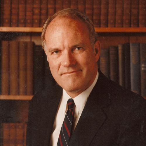 Former Ripon College President Bernard S. Adams