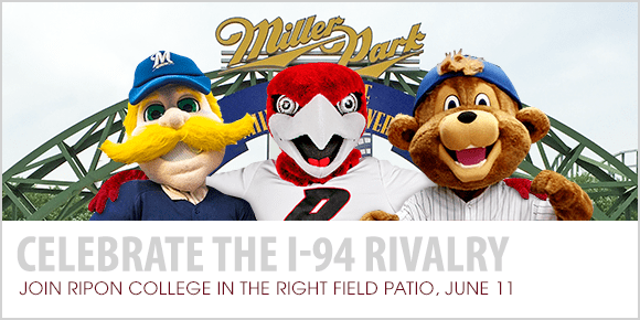 Join Ripon College at the Brewers/Cubs Game, July 22
