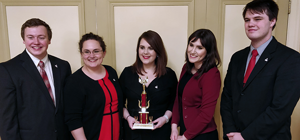 Ethics Bowl Team takes third place in nation