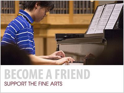 Become a Friend: Support the Fine Arts