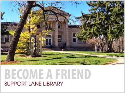 Become a Friend: Support Lane Library