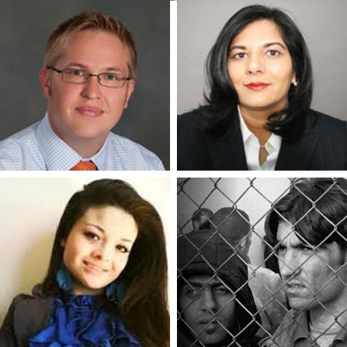 Panelists: MARISA LEZA , HUMA AHSAN AND JOHN HOLEVOET