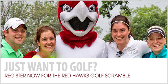 Just want to golf? Register now for the Red Hawks Golf Scramble