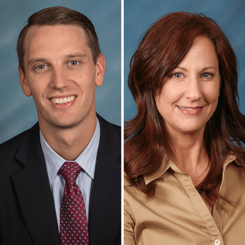 Composite Photo of Shawn Karsten and Lisa Ellis