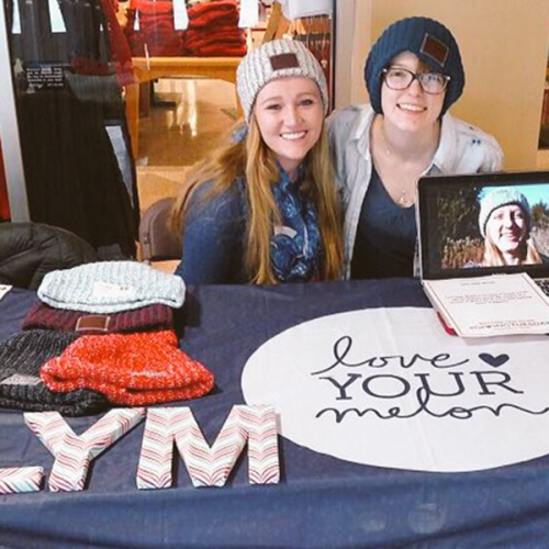 Student members of Ripon College Love Your Melon chapter