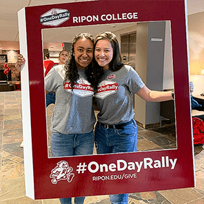 Ripon hosted its second giving day, #OneDayRally, May 1 and raised more than $1 million.
