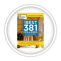 Princeton Review Best 381 2017 Edition