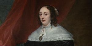 portrait of a woman in a dress