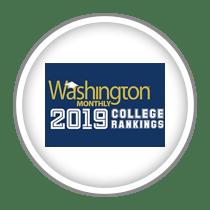 Washington Monthly 2019 College Rankings