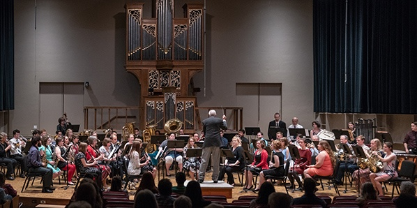 The Symphonic Wind Ensemble performed its Spring Recital recently
