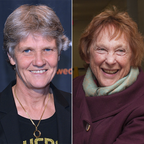 Pia Sundhage and Elaine Coll
