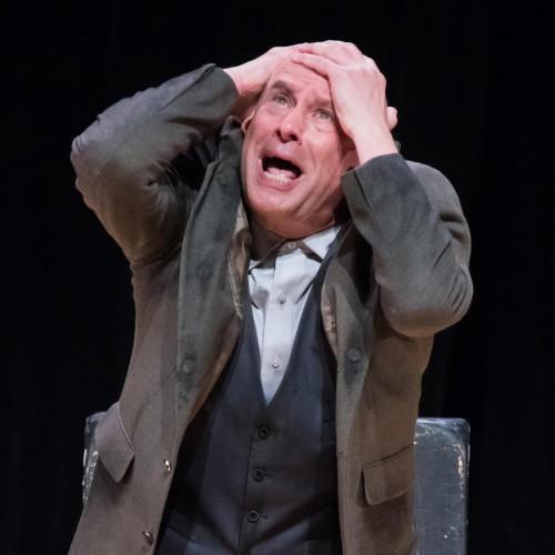 Roger Grunwald as German half-Jew, Christoph Rosenberg in THE MITZVAH.