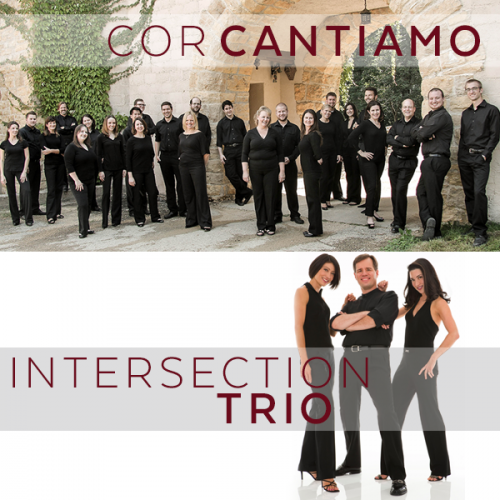 Cor Cantiamo and Intersection Trio to perform at Ripon College