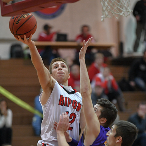 Ty Sabin goes in for a layup