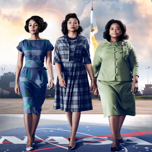 "Poster Art for ""Hidden Figures"""