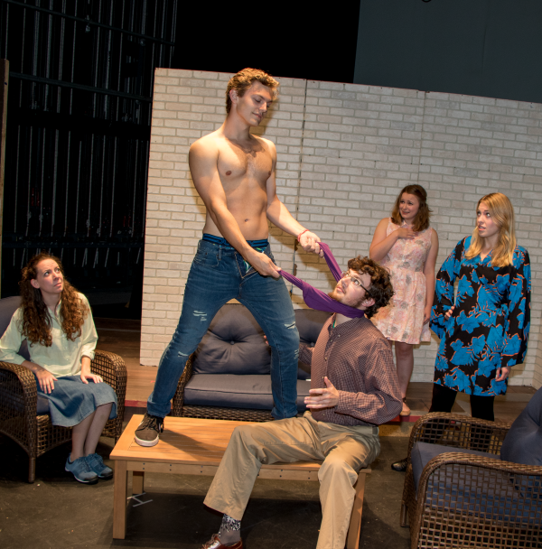 The theatre department recently performed