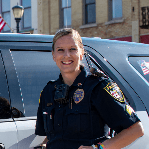 Photo of Ripon Police Officer Lindsay Michels