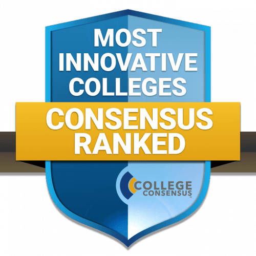 Most Innovative Colleges logo