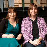 Bailey Jerrick, left, and Crystal Fercy