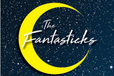 """A promotional image with the musical's title, """"The Fantasticks""""."""