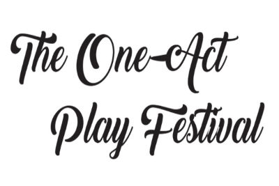 """A promotional image with the festival's title, """"The One-Act Play Festival""""."""