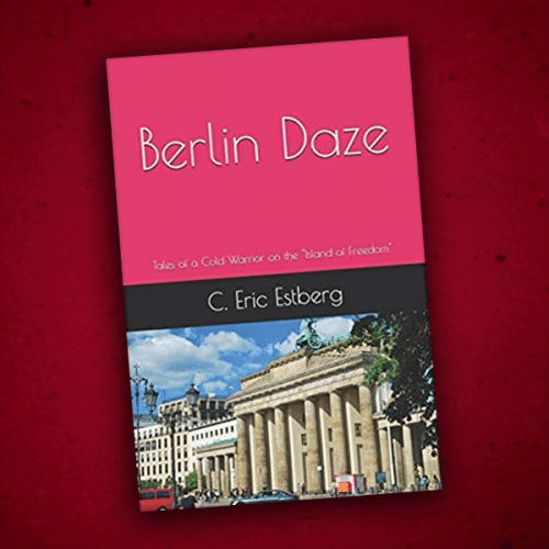 Cover of Rick Estberg's new book Berlin Daze